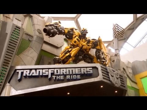 Transformers The Ride Complete Experience - Universal Studios Singapore