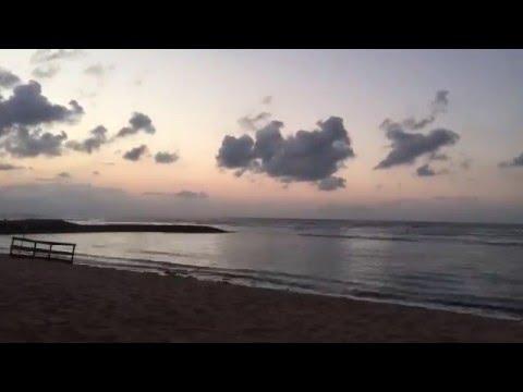 Bali sea shore (time lapse video)