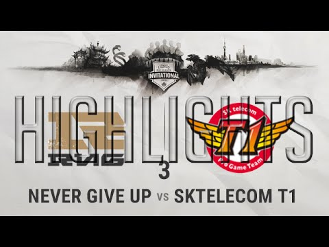 RNG vs SKT G3 Highlights Semi-final MSI 2016 - Mid Season Invitational 2016 Royal vs SKTelecom T1
