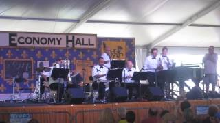 Jazz Fest 2015 01 Lars Edegran & The New Orleans Ragtime Orchestra