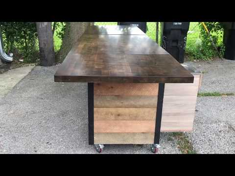 Coffee Cart   Serving Counter   Mobile Bar For A Coffee Shop For Sale   SOLD