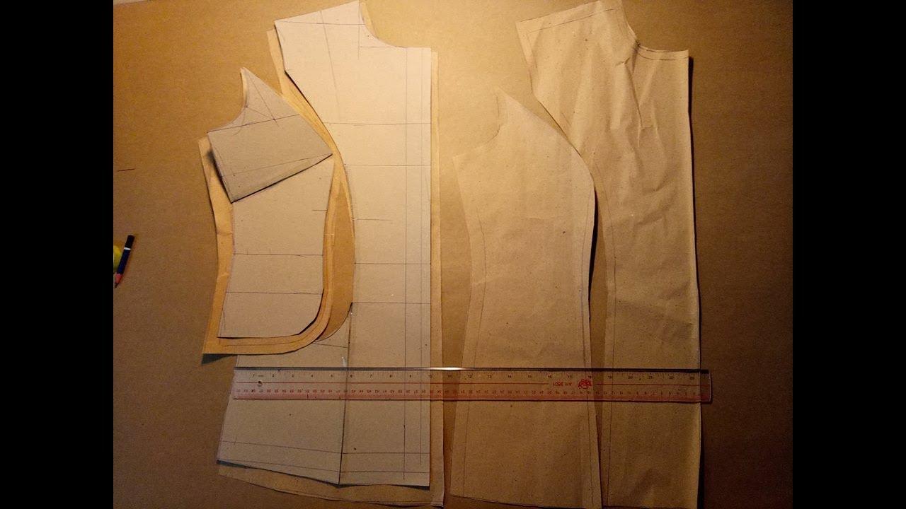 dạy cắt may cơ bản: hướng dẫn cách cắt áo sơ mi nữ cơ bản có bổ mảnh