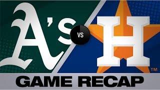 Alvarez, Cole power Astros' 11-1 win vs. A's | A's-Astros Highlights 7/22/19