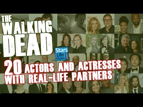 The Walking Dead : 20 Actors And Actresses With Their Real Life Partners  Celebrity Couples