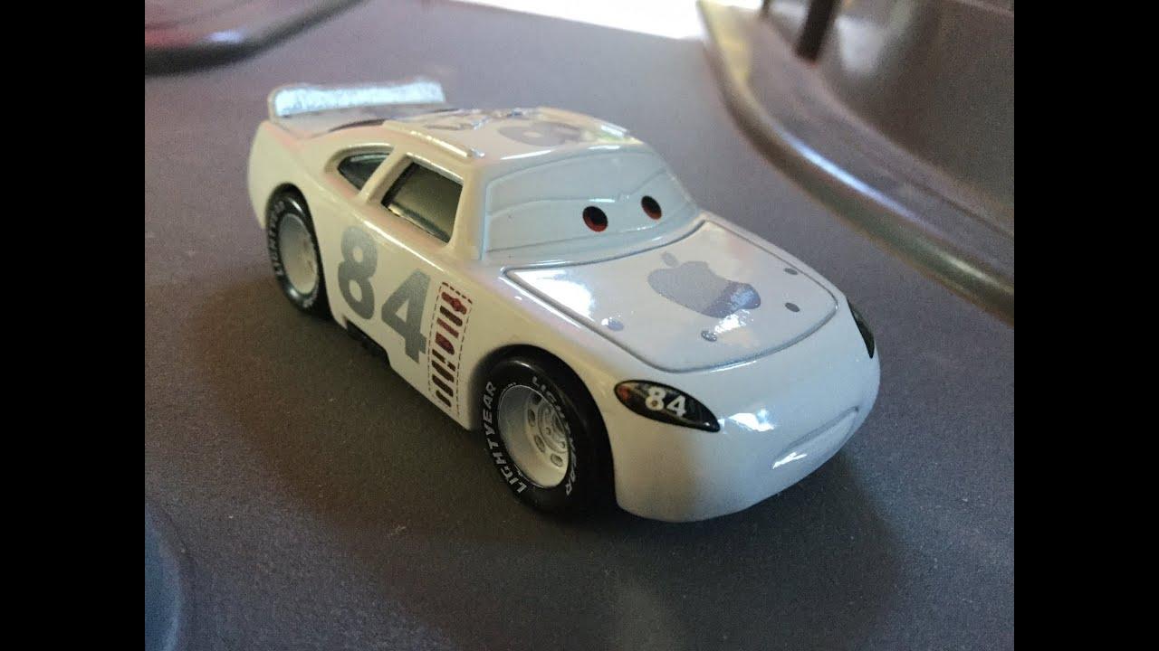 Mattel Pixar Cars Custom Apple Icar Die Cast Youtube