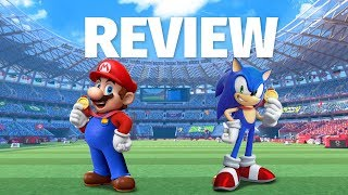 Mario & Sonic at the Olympic Games Tokyo 2020 Review - Going for Gold Once Again (Video Game Video Review)