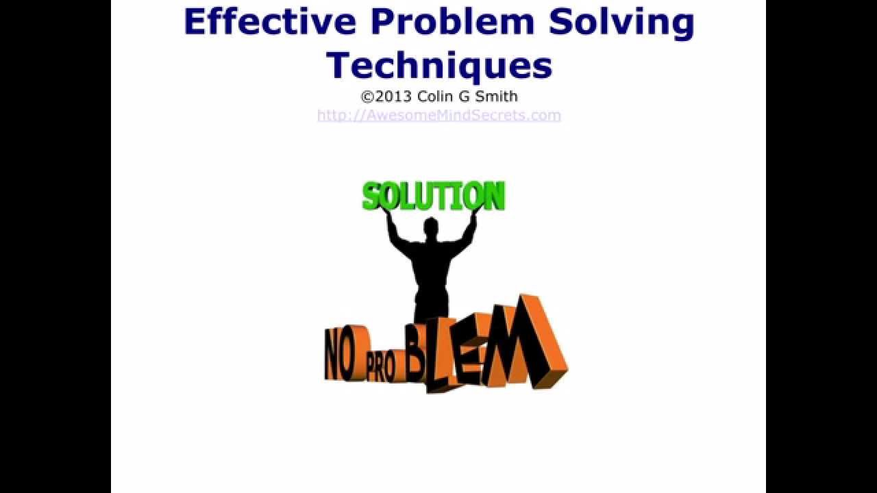 problem solving skills creative problem solving techniques problem solving skills creative problem solving techniques