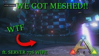 WE GOT MESHED... | ft. SERVER 776 WIPE | Ark Xbox Official