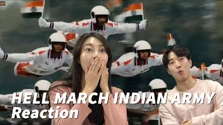 HELL MARCH _ Indian Army video REACTION by Koreans