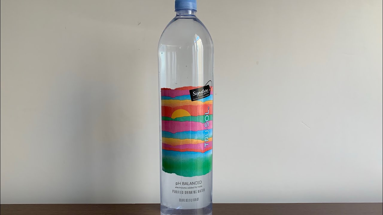Signature Select Tru Sol #Water test - pH and TDS