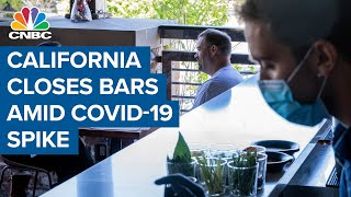 California Is Closing Bars After Seeing A Surge In Coronavirus Cases Over The Weekend