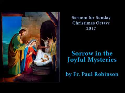 Sermon Sunday Octave 2017 — by Fr. Paul Robinson