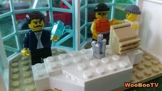 LASTENOHJELMIA SUOMEKSI - Lego city - Timanttinen tulivuori - osa 3