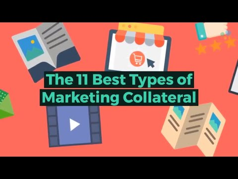 What is a marketing collateral definition
