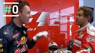 Minuto #0: Tensión en el pódium del GP de China en F1 | #0