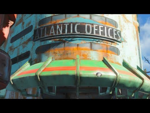 Fallout 4 Mod Playthrough | THE LOST BUILDING OF ATLANTIC!!