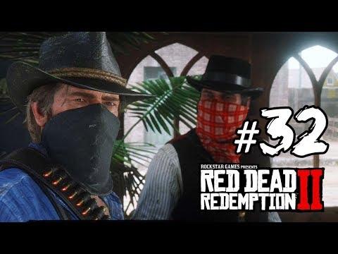 #32 電車劫案 Red Dead Redemption 2 碧血狂殺2 中文版 [PS4 Pro]