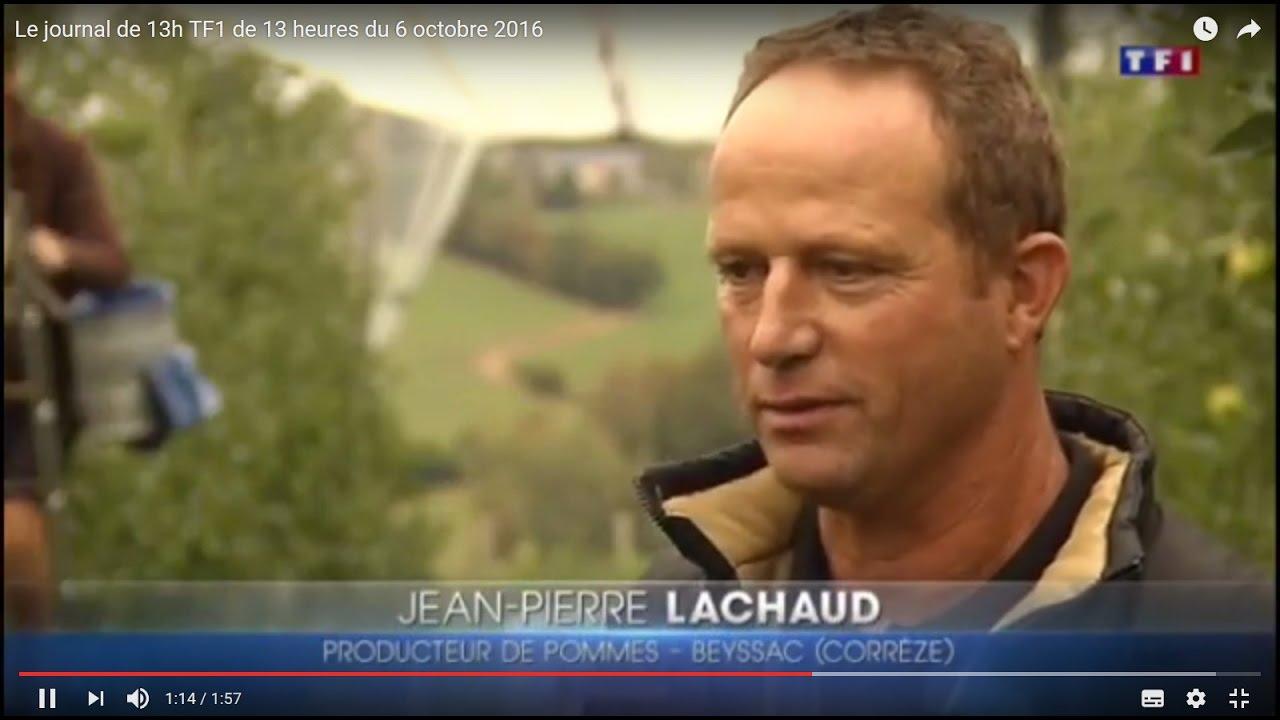 Le journal de 13h TF1 de 13 heures du 6 octobre 2016 - YouTube