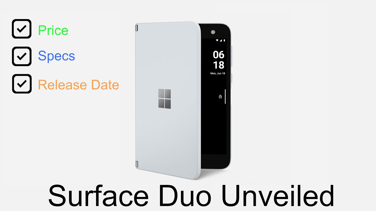 Surface Duo: Everything You Need to Know
