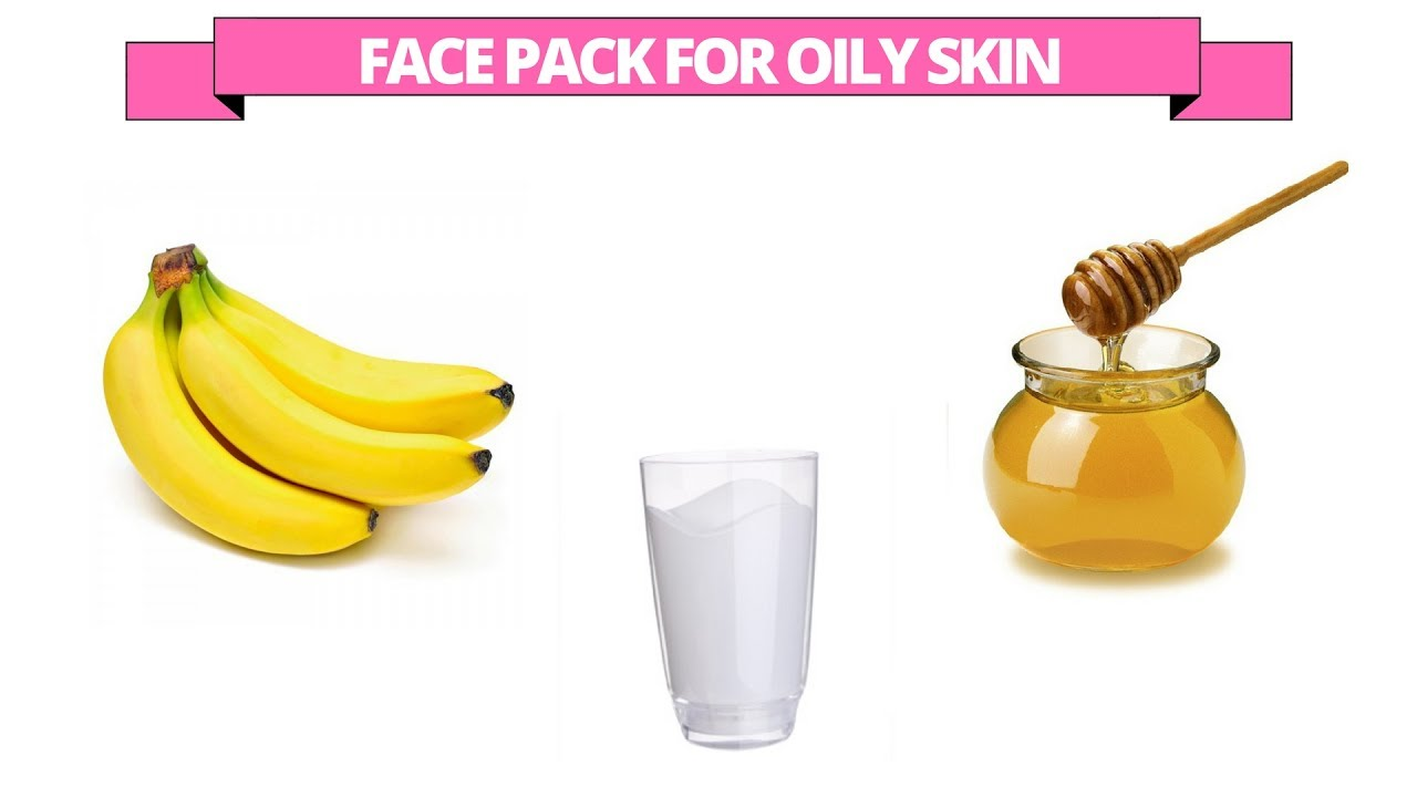 Banana Honey Milk Face Mask For Oily Skin Youtube