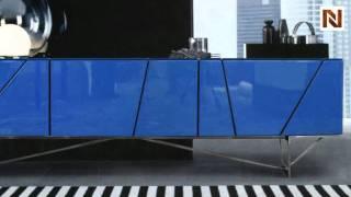 Olivia - Blue Tv Stand/buffet Vgdvsmd14a-blu