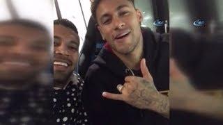 Yıldız Futbolcu Neymar'dan Berber Hüseyin'e Selam