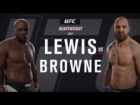 UFC Fight Night 105 - Lewis vs Browne