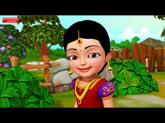 கனிந்த மொழியில் பேசும் கண்மணிப்பாப்பா பிறந்தநாள்   Tamil Rhymes for Children   Infobells
