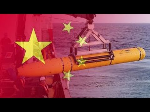 Chinese navy steals American underwater drone