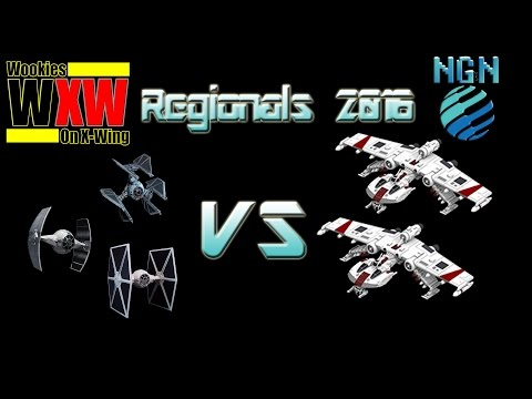 Star Wars X-Wing Miniatures | Maritime Regionals 2016 - Game 2: Ryad Aces vs Double K-Wing
