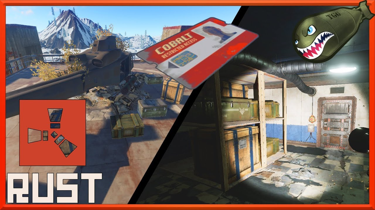 Rust | All Red Key Card Monument Puzzles, How to Get Mega Loot (Rust  Tutorials)