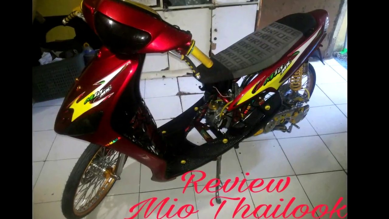 review mio thailook style - youtube