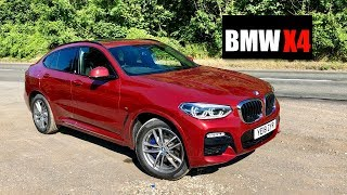 homepage tile video photo for 2018 BMW X4 20d M Sport Review - Inside Lane