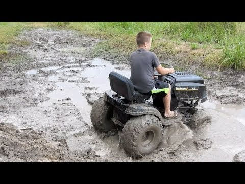 Yard Machine Redemption mud hole