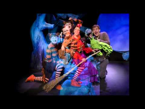 Songs and photos from the Room On The Broom Stage Show