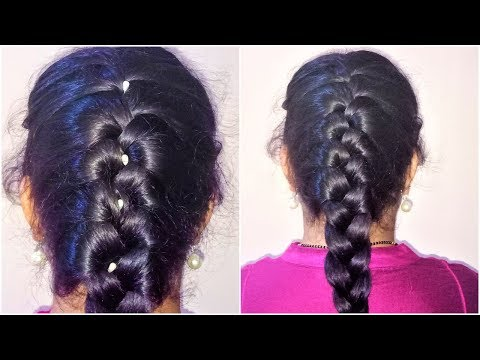 how-to-do-french-braid-hairstyle-tutorial-2018-  -french-braid-  -cute-hairstyles-  -hairstyle