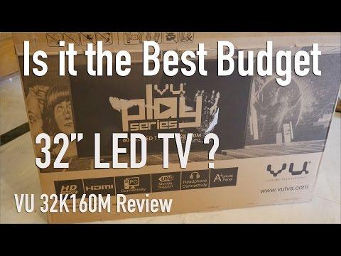 """VU 32"""" Ultra Budget LED TV Review Best Bang for Buck?"""