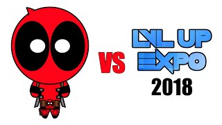 Deadpool vs LVL UP EXPO 2018