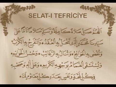 4444 Kere Okunan Salavat Salat-ı Tefriciye | Kayıp Dualar