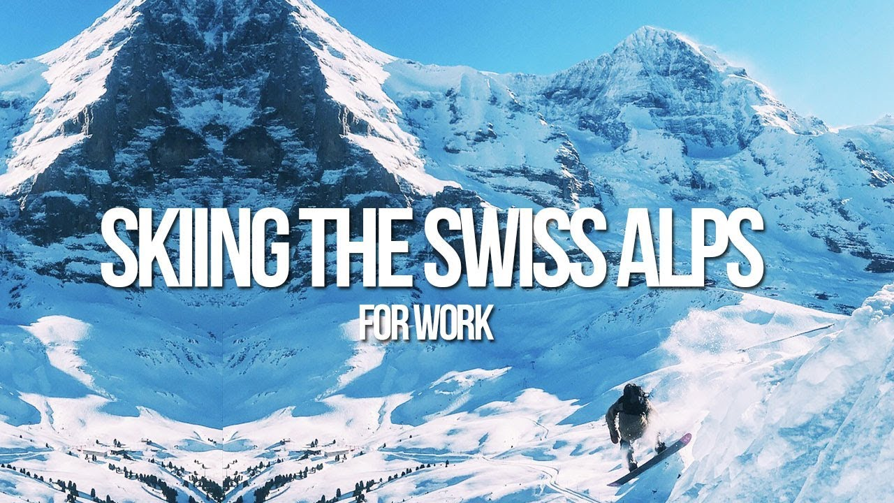 SKIING THE SWISS ALPS - Bus2Alps Orientation, Interlaken - Idelson Vlogs