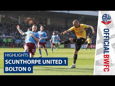 HIGHLIGHTS | Scunthorpe United 1-0 Bolton
