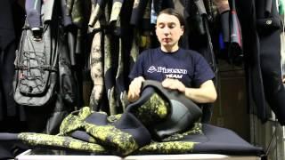 видео Гидрокостюм для подводной охоты SARGAN НЕМАН