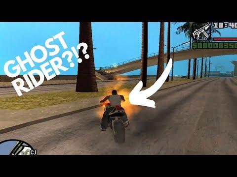 GTA San Andreas ghost rider mod cheat - Myhiton