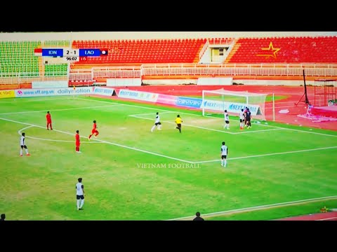 Indonesia 2 - 1 Laos | AFF U18 CHAMPIONSHIP 2019 FULL HD | GROUP A | 12/08/2019