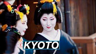 Ein seltenes Bild: Geishas in Kyoto. Und wir haben so ein Glück! | WELTREISE VLOG #85 Japan