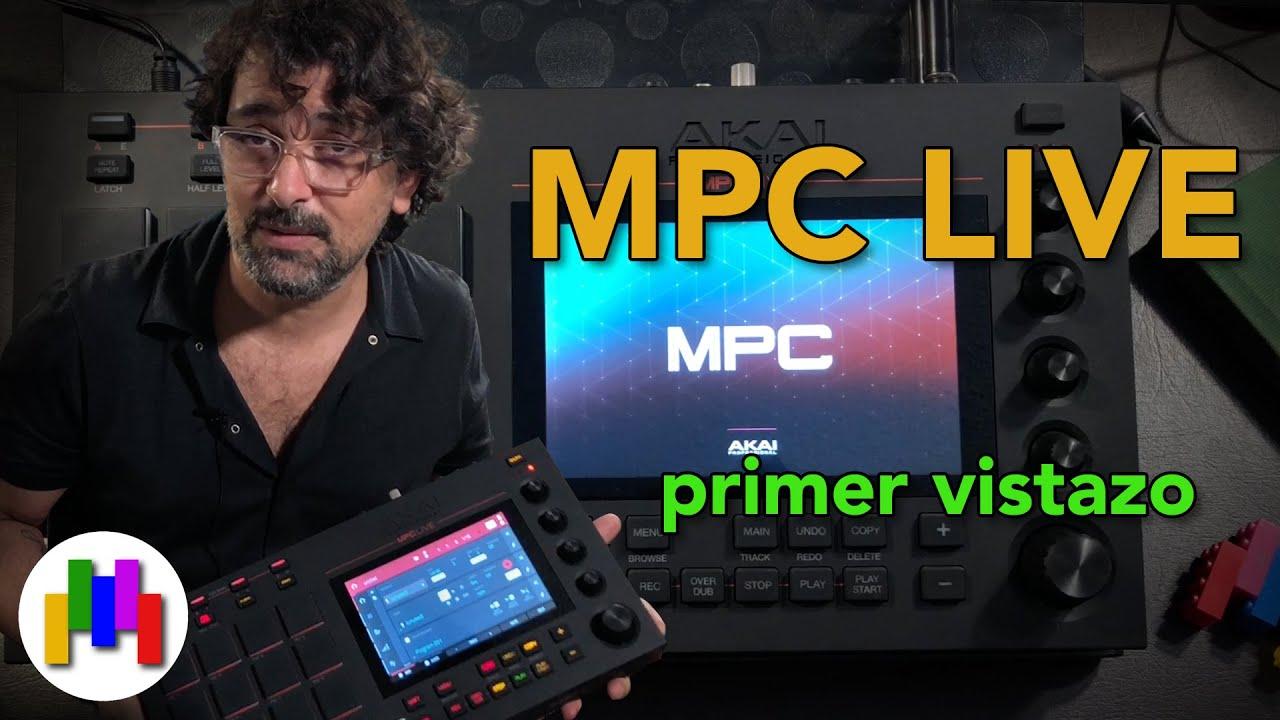 Akai MPC LIVE Demo - Como fluye? - En Español
