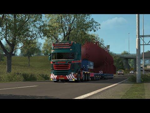 Euro Truck Simulator 2 Scania V8 Open Pipe V.10.5