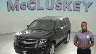 G97768JA Used 2015 Chevrolet Tahoe LT 4WD SUV Black Test Drive, Review, For Sale -