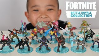 NEW Fortnite Battle Royale Collection Fortnite Toys Unboxing With Ckn