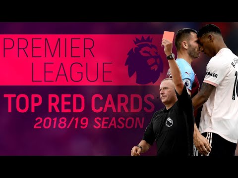 Top Premier League red cards of 2018-2019 season | NBC Sports
